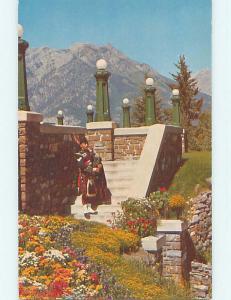 Unused Pre-1980 TOWN VIEW SCENE Banff Alberta AB p9189