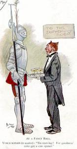 Comic - Series 1771 - At A Fancy Ball     Artist Signed: Phil May