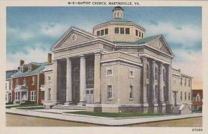Virginia Martiansville Baptist Church
