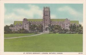 St Peter's Seminary , LONDON , Ontario , Canada , 30-40s