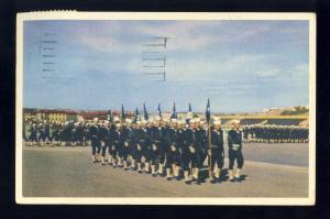 Santa Diego, California/CA Postcard, US Naval Training Center, 1953!