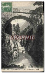 Old Postcard From Around Cauterets The Pont D & # 39Espagne