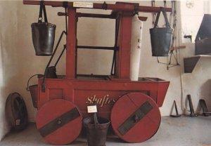 Antique Shaftesbury Dorset Fire Engine 1744 Water Bucket Postcard