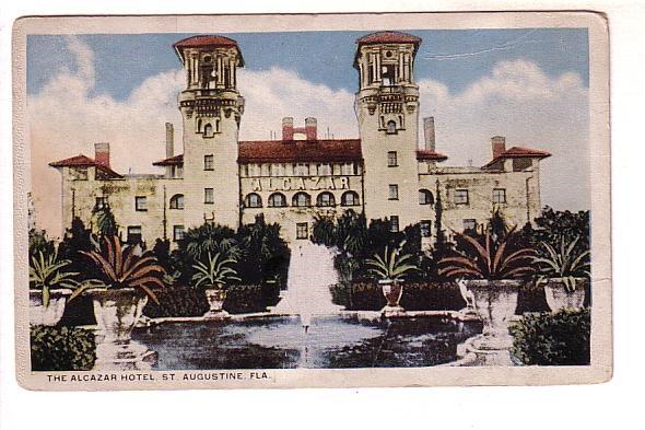 The Alcazar Hotel, St Augustine, Florida