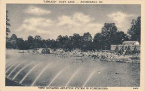 Aerated Cox's Lake , ANCHORAGE , Kentucky , 1930-40s
