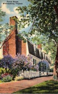 Virginia Williamsburg The Tarvis House Curteich