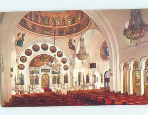 Pre-1980 CHURCH SCENE Tarpon Springs - Near Tampa Florida FL A9033
