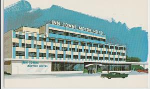 Albany NY INN TOWNE MOTOR HOTEL Postcard