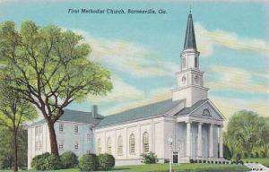 First Methodist Church, Barnesville, Georgia,30-40s