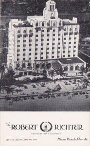 The Robert Richter Hotel Miami Beach Florida