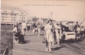 OCEAN GROVE, New Jersey, PU-1950; Boardwalk, North End Hotel, Nurse