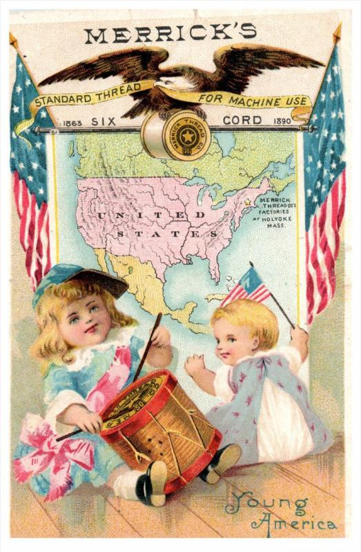 2230 Merrick's  Thread Trade Card