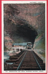 12826 Railroad Observation Car Train, Natural Tunnel, Virginia