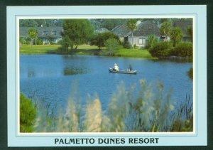 Palmetto Dunes Resort Hilton Head Island Canals Postcard