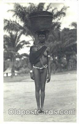 African Nude Post Card Post Card