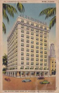 El Commodore Hotel Miami Florida 1941 Curteich