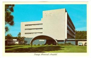 Exterior, Orange Memorial Hospital, Orange, Texas,  40-60s