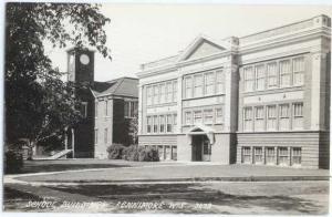 RPPC of School Buildings Fennimore Wisconsin WI by Cook # 3679
