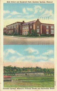 USA High School and Roosevelt Field Excelsior Springs Missouri 03.32