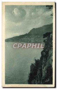 Postcard From Old Rock of Monaco in Cap d'Ail