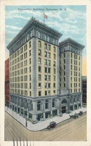 University Building in Downtown Syracuse NY, New York - pm 1927 - WB