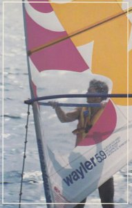 SHERBROOKE , Quebec , Canada , 1989 ; Wind Surfing
