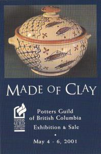 Made Of Clay Exhibiton and Sale Potters Guild Of British Columbia Canada