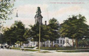 Illinois Waukegan Court House Square