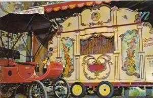 This Hug Dutch Fairground Organ Merry Oldsmobile Displayed At The Eatery At S...