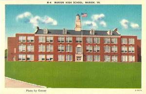 Linen of Marion High School Marion Virginia VA