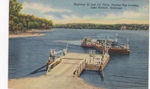 Arkansas Lake Norfork Hwy 62 & 101 Ferry Panther Bay Landing Curteich sk4944