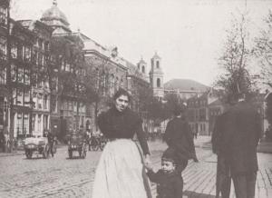 Jonas Daniel Miejerplein 1902 Amsterdam Postcard