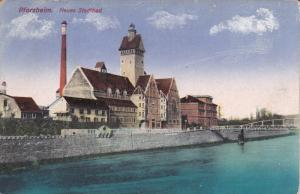 PFORZHEIM, Baden-Wurttemberg, Germany, 1900-1910's; Neues Stadtbad