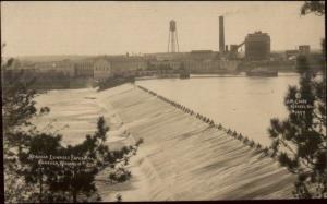 Nekoosa WI Edwards Paper Mill c1910 Real Photo Postcard