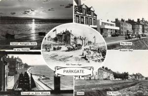 Vintage Real Photo Multi View Postcard, PARKGATE The Wirrall, Cheshire 41V