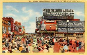NJ - Atlantic City. SteelPier