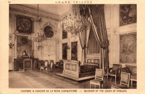 Bedroom of the Queen of England,Grand Tianon,Versailles,France BIN