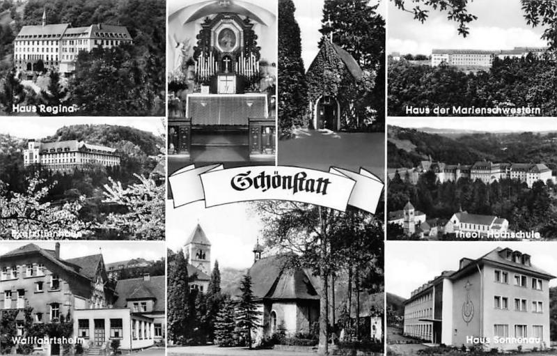 Schoenstatt, Haus der Marienschwestern Haus Regina Theol Hochschule Kirche
