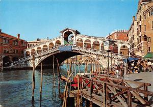 Italy Venezia Canal Grande - Ponte di Rialto, Grosse Kanal Bruecke