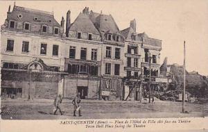 Saint-Quentin , France , 1910s Place l'Hotel