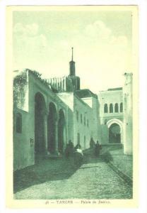 TANGER - Palais de Justice, Morocco, PU-1935