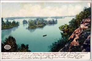 Among the 1000 Islands NY