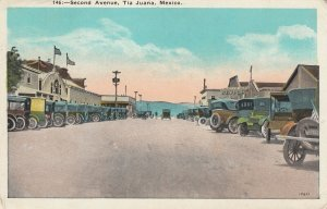 TIJUANA , BC , Mexico , 1920-30s ; Second Avenue
