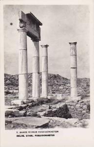 RP, Poseidoniastes, Delos, Etabl., Greece, 1920-1940s