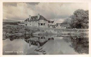 Vintage Real Photo Postcard, Sligachan Hotel, Skye, Scotland DY4