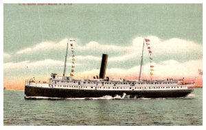 S.S.  North Star , Maine Steamship Co. Line