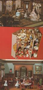 Rheinisches Frellichtmuseum Puppen Toy Doll Museum 3x 1970s German Postcard s