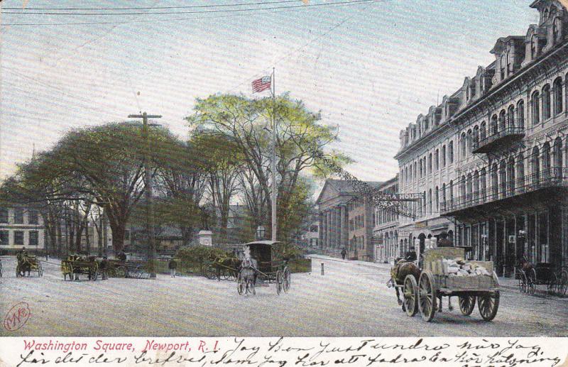 Washington Square , NEWPORT , Rhode Island, 1906