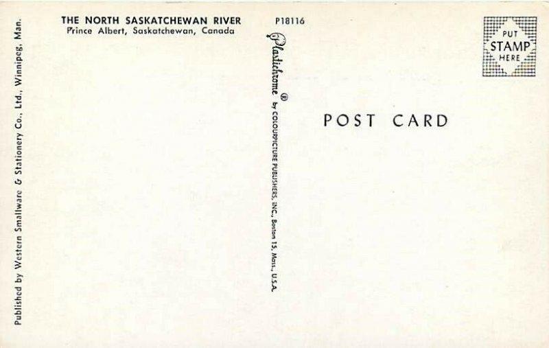 Canada, Saskatchewan, Prince Albert, North Saskatchewan River