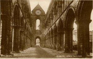UK - Scotland,  Jedburgh Abbey, Interior *RPPC